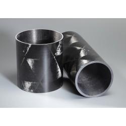 Tube carbone 95x100mm Technique