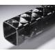 Poutre carbone carrée 40x40mm - www.tubecarbone.com