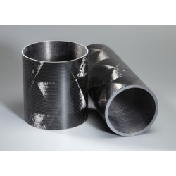Tube carbone 80x84mm Technique