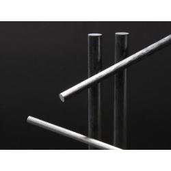 Jonc carbone 10 mm Longueur 1720 mm