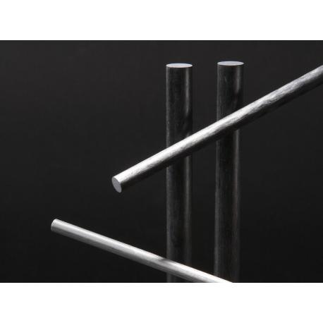 Jonc carbone 10 mm Longueur 770 mm