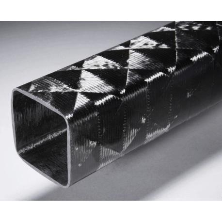 Poutre carbone carrée 40x40mm