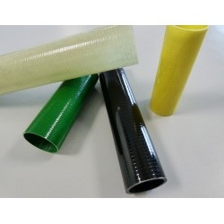 Tube verre 22x25mm Drapage