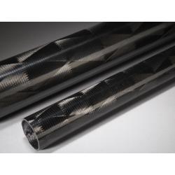Tube carbone 45x50x475mm Technique
