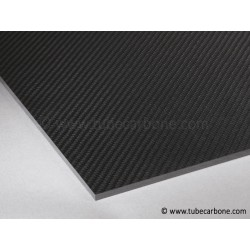 Plaque carbone 1mm 445x320