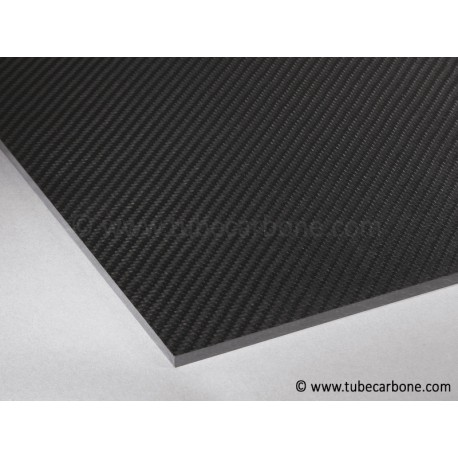 Plaque carbone 2,5mm - www.tubecarbone.com