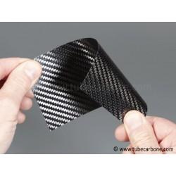 Plaque carbone 115x440x0,7mm