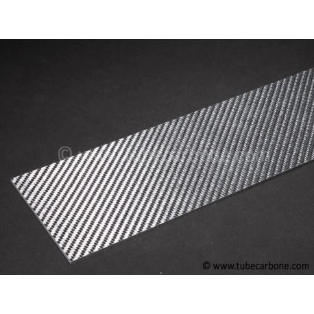 Plaque carbone/verre 1mm - www.tubecarbone.com