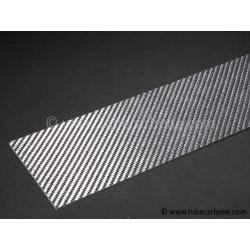 Plaque carbone/verre 0,3mm  - www.tubecarbone.com