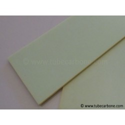 Plaque verre 2,5mm - www.tubecarbone.com