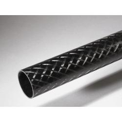 Tube carbone 76x80x1440mm Standard