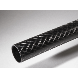 Tube carbone 76x80x640mm Standard