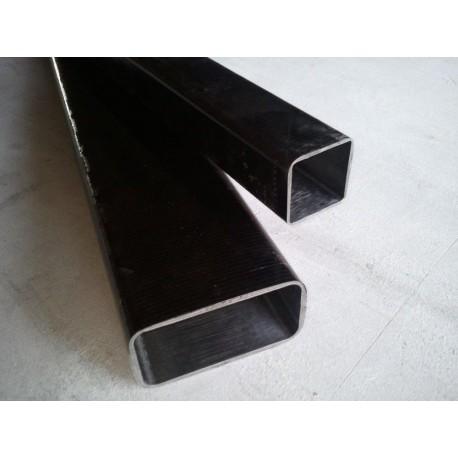 Poutre carbone carrée 40x40x1230mm ép. 1.5 mm