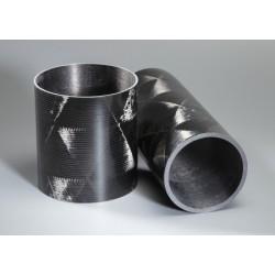 Tube carbone 153X155X1200mm Technique 6k