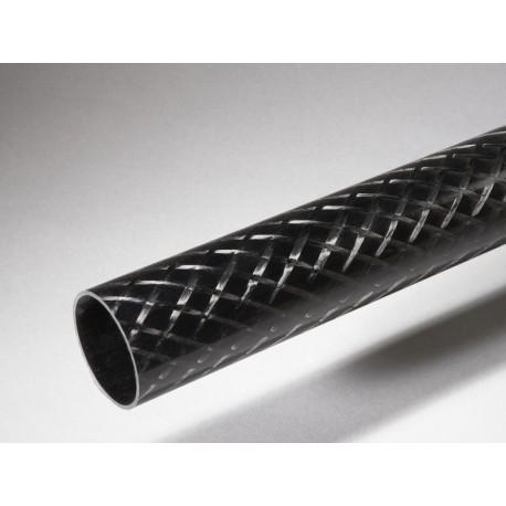 Tube carbone 56x60x870mm Standard