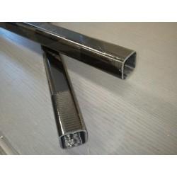 Poutre carbone carrée 20x20x1255mm - www.tubecarbone.com