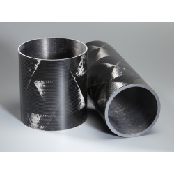 Tube carbone 90x95mm Technique - www.tubecarbone.com