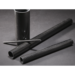 Tube carbone 21,5x23mm Drapage Rectification - www.tubecarbone.com