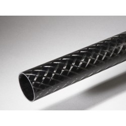 Tube carbone 34x38mm Standard