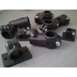 Raccord tube diamètre ext. 25mm - www.tubecarbone.com