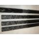 Perche carbone 34x38mm Standard - www.tubecarbone.com