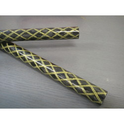 Carbon tube 12x16mm Technical aramid reinforced