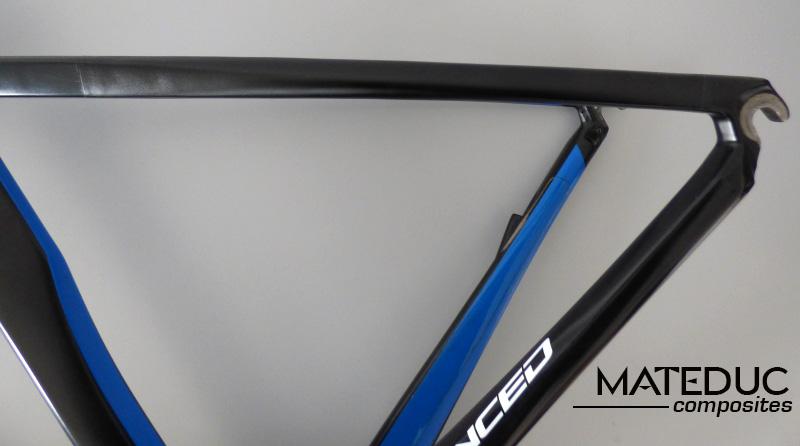 Réparation cadre vélo en carbone - www.tubecarbone.com